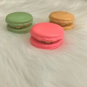 Francesca's Collections Accents - Set of 3 French Macaron Cookie Trinket Boxes